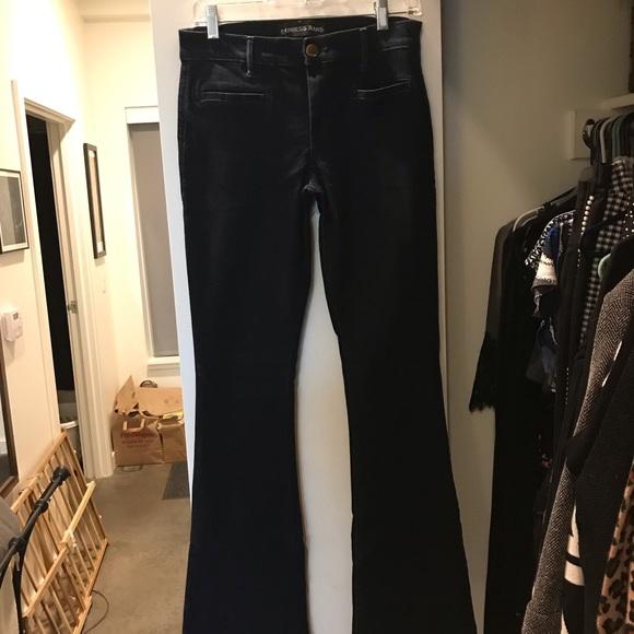 Express Denim - Express Mid Rise Slim Flare Jeans